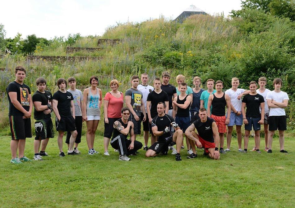 Erster Outdoor Kurs-2012