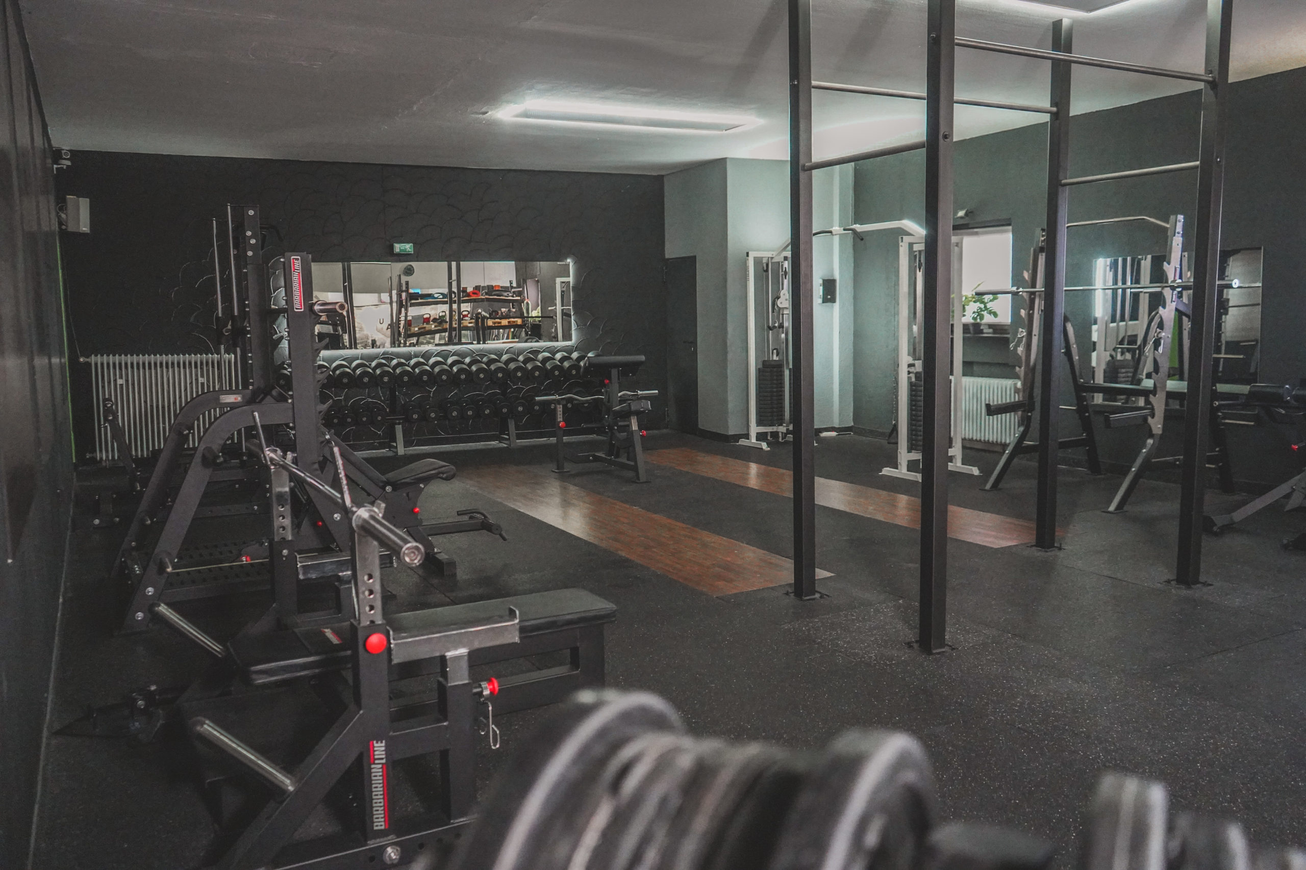 Crosspandables-Fitness Area